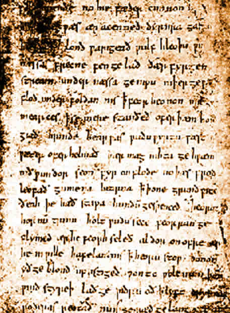 an analysis of the aspect of the heroic and religious truths in two anglo saxon poems beowulf and th The anglo-saxon chronicle, for example, primarily refers to those of a scandinavian cultural identity simply as dene [dane] or, at times when interactions were hostile, as hæðene [heathen] which gives rise to the question: how was cultural identity perceived in the early medieval anglo-scandinavian world and to what degree was self-identity.