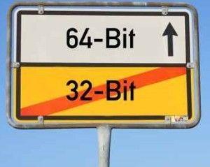 64 y 32 bits
